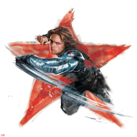 Captain America Civil War Winter Soldier Bucky Barnes