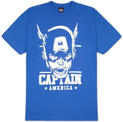 Captain America - Sketch Capt T-Shirt