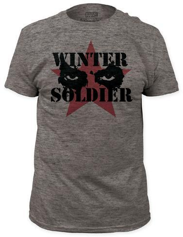 Captain America: The Winter Soldier - Cold Stare (slim fit) T-Shirt