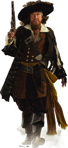 Captain Barbossa Cardboard Cutouts