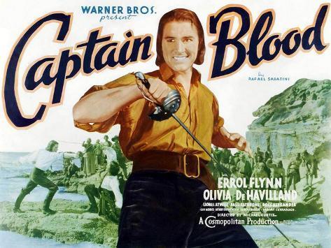 Captain Blood, 1935 Art Print