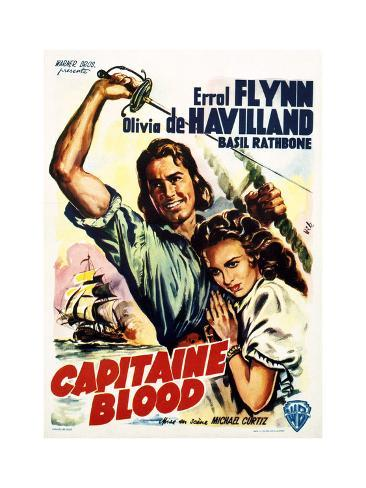 Captain Blood - Movie Poster Reproduction Art Print