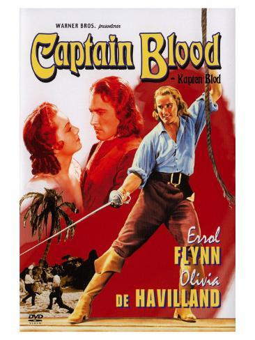 Captain Blood, Swedish Movie Poster, 1935 Art Print