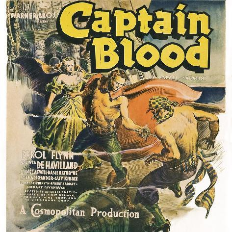 Captain Blood Art Print
