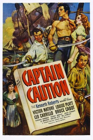 Captain Caution Art Print