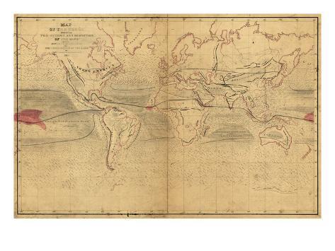 World Winds in Navigation Art Print