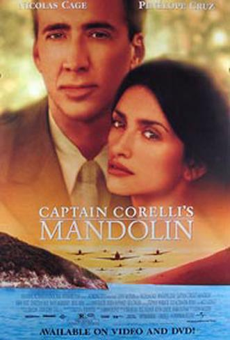 Captain Correlli's Mandolin オリジナルポスター