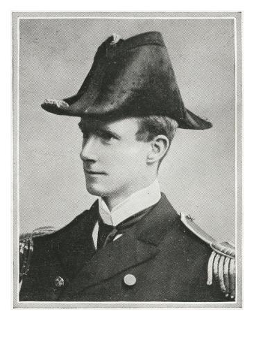 Captain of the Carpathia. Captain Arthur Henry Rostron, R.N. Stretched Canvas Print