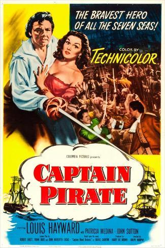 Captain Pirate Art Print