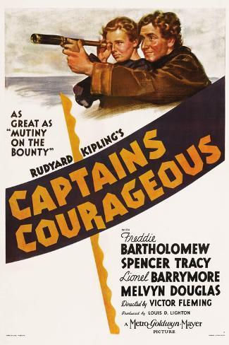 Captains Courageous, 1937 Giclee Print