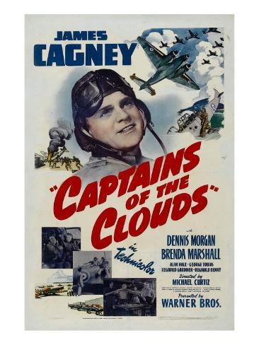 Captains of the Clouds, James Cagney, 1942 Fotografía