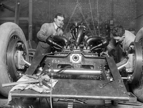 Car Mechanics Photographic Print