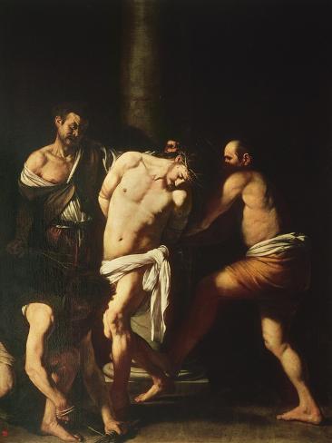 Flagellation, 1607 Lámina giclée