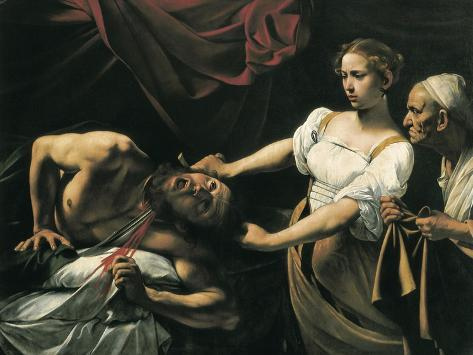 Judith and Holofernes Taidevedos