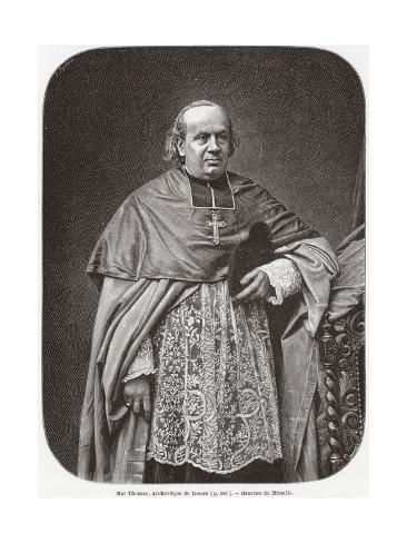 Cardinal Thomas Giclee Print