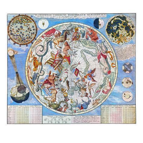 Celestial Planisphere Giclee Print