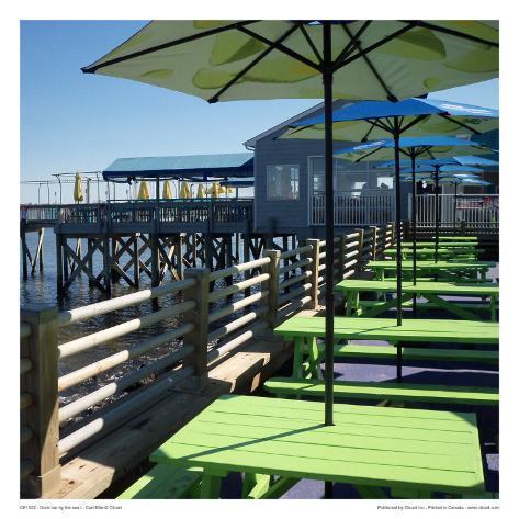 Dock Bar By The Sea I Art Print
