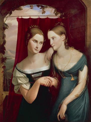 Hafeland Sisters Giclee Print
