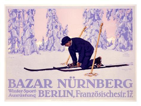 Bazar Nurnberg Giclee Print