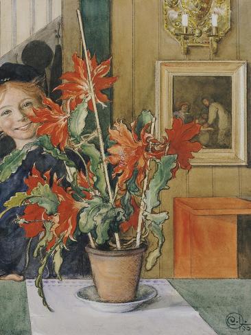 Brita's Cactus, 1904 Lámina giclée