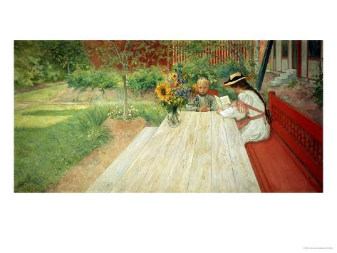 The First Lesson, 1903 Giclee Print