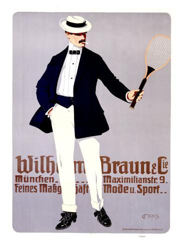 Wilhelm Braun Giclee Print