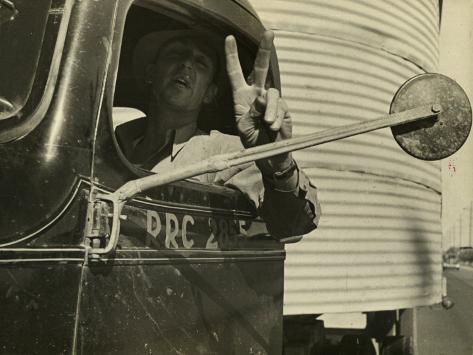 Trucking Story Photographic Print