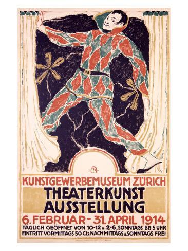 Theaterkunst Ausstellung Giclee Print