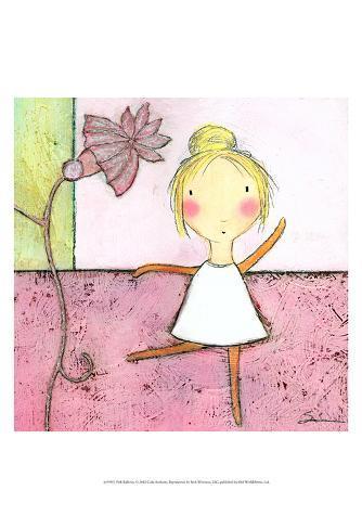 Pink Ballerina Art Print