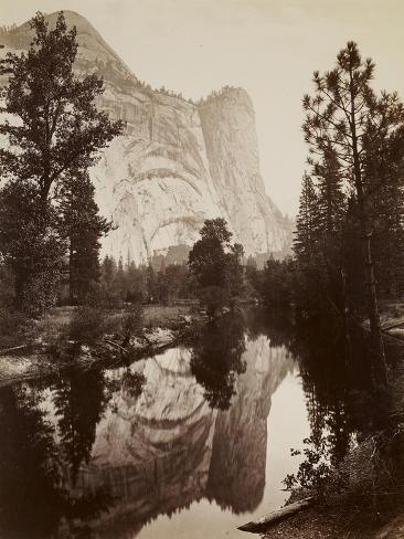 Washington Column, Yosemite, C.1866 Giclee Print