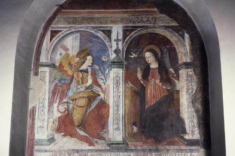 Annunciation, 1491 Impressão giclée