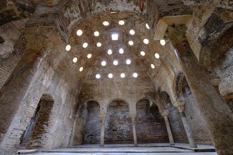 Baños Arabes Granada | El Banuelo Banos Arabes Arab Baths Granada Andalucia Spain