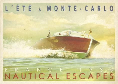 Nautical Escapes 2 Stretched Canvas Print