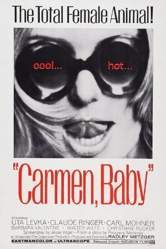 Carmen, Baby, Uta Levka, 1967 Art Print