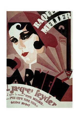 Carmen De Jacquesfeyder Avec Raquel Meller 1926 Art Print