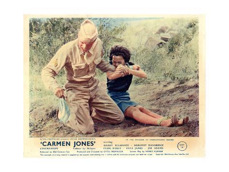 Carmen Jones - Lobby Card Reproduction Art Print