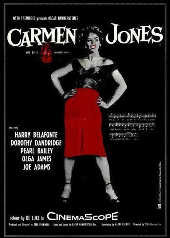 Carmen Jones Masterprint