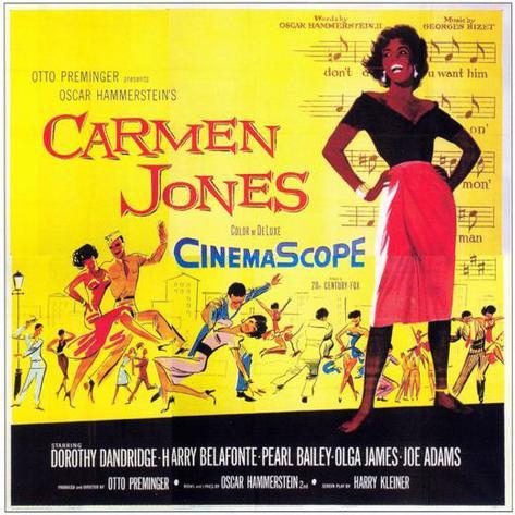 Carmen Jones Poster
