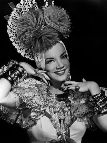Carmen Miranda, ca. 1940s Photo