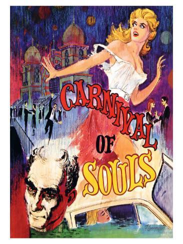 Carnival of Souls, 1962 Art Print