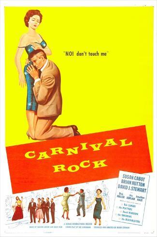 Carnival Rock Art Print