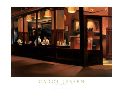Cafe Europa Art Print