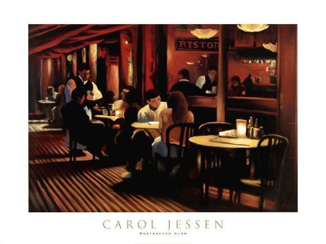 Cafe I Art Print