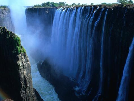 Victoria Falls, Victoria Falls,Southern Province,Zambia Photographic Print