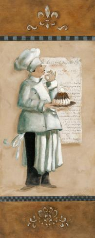 Chef Magnifique I Art Print