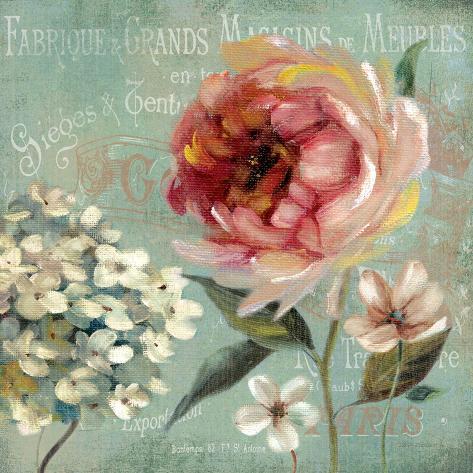 Le Jardin de Paris II Art Print