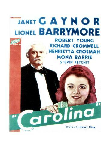Carolina - Movie Poster Reproduction Art Print