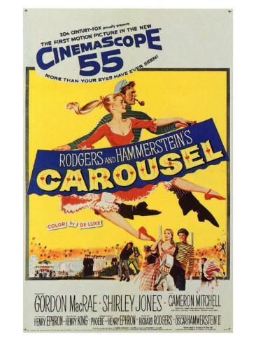 Carousel, 1956 Art Print