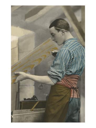 Carpenter Examining Board Art Print