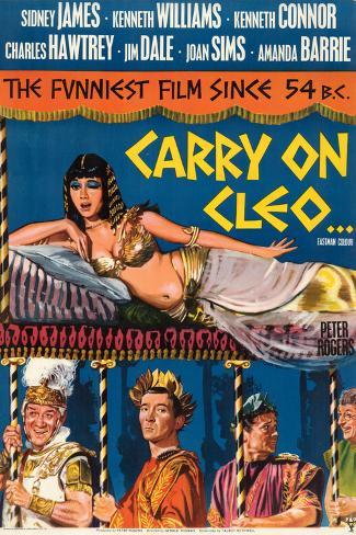 Carry on Cleo Art Print